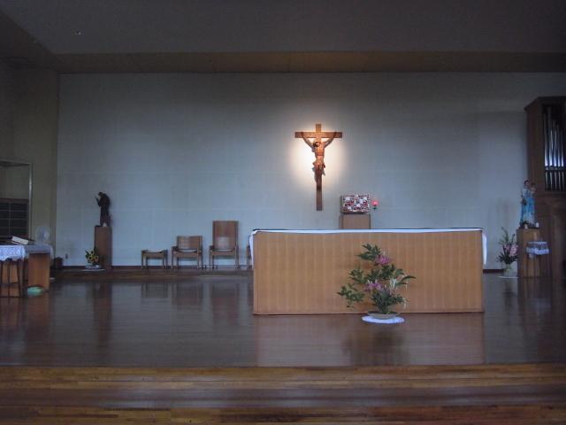 Alter_at_Kita11jyo_church