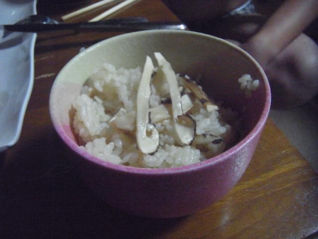 Matsutake_rice
