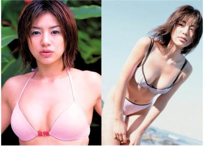 井川遥の過去のグラビア画像