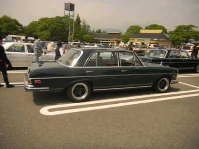 AMGホイルでキマッテイルM,Benz280SEL4.5 Fさん