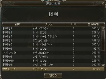 10/9 祭典勝利・・・|ョェ・´)