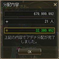 9/27 3極BOSSツアー 分配額