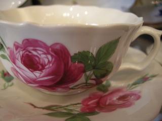 マイセン ピンクのバラ 007
