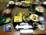 山水閣夕食