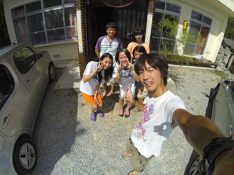 竜馬と家族