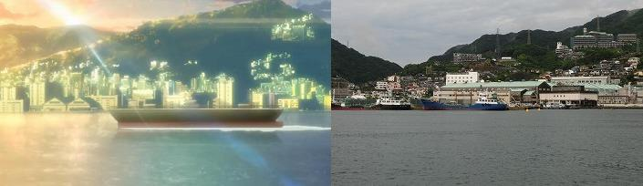 幻影ヲ駆ケル太陽7話港2