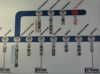 コッペリオン路線図