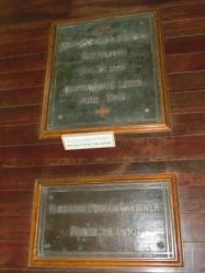 ガーディナーの墓の銘文