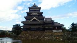 松本城・南
