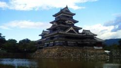 松本城・南西