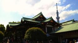 亀戸天神社&東京スカイツリー