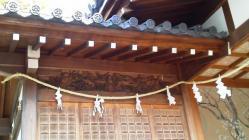 亀戸天神社 梅の巴紋
