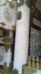 陽明門の柱