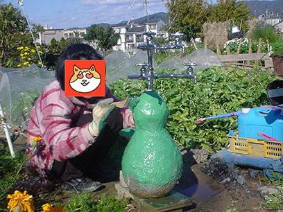 ジャンボひょうたん形の立水栓62