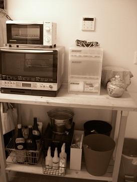 キッチンの台