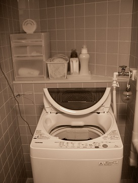洗濯機周り