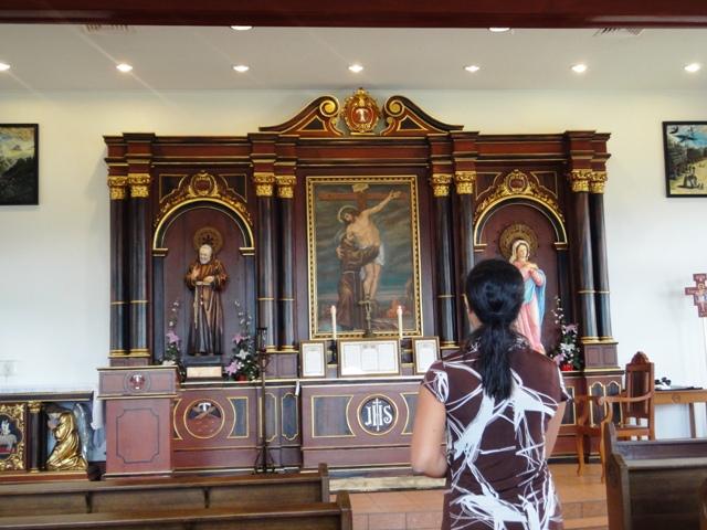 聖フィデリス修道院の礼拝堂