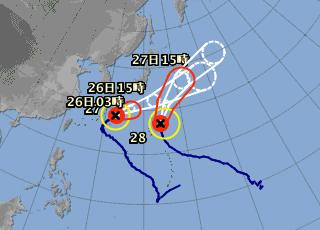 20131025 台風情報