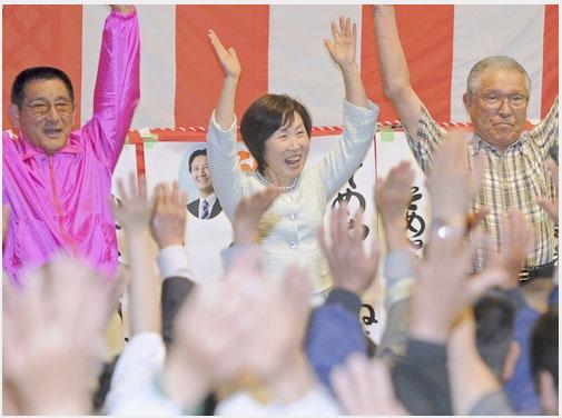 島田市長選結果