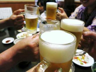13-7-23 ビア乾杯