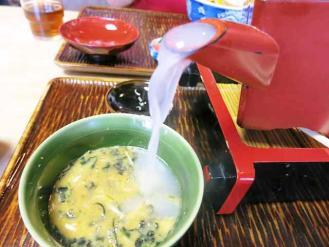 13-8-3 蕎麦湯