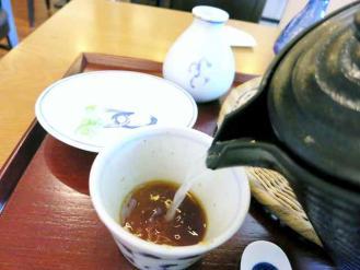 13-8-31 蕎麦湯