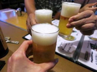 13-9-7-2 ビア乾杯