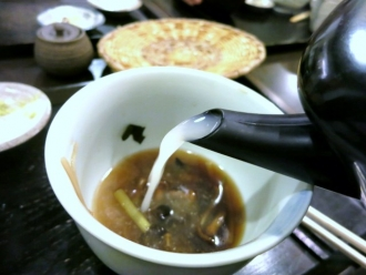 13-10-15 蕎麦湯