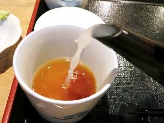 13-10-21 蕎麦湯