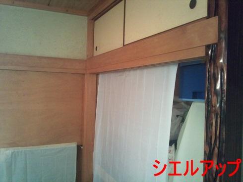 白木洗い 和室 クリーニング3
