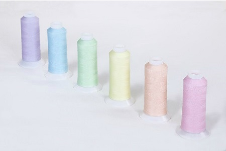 蓄光糸暗いところで光る発光する繊維商品製品開発企画会社