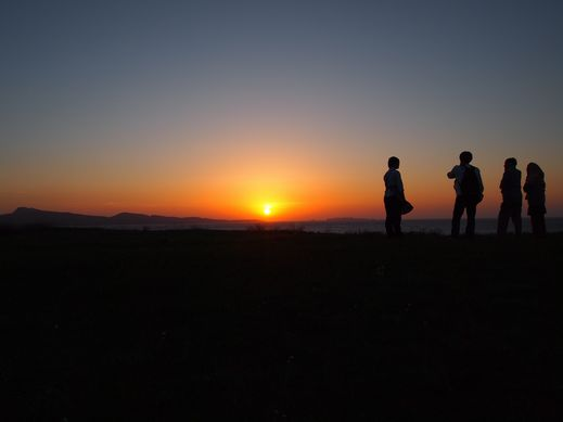 130531夕陽