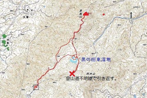 屏風山map