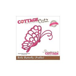059120 CottageCutz Elites Die (Bella Butterfly Profile) 1895