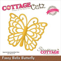 059123 CottageCutz Elites Die (Fancy Bella Butterfly) 1895
