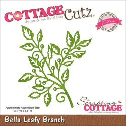 059124 CottageCutz Elites Die (Bella Leafy Branch) 1995