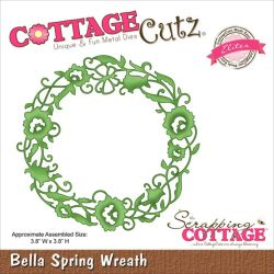 059125 CottageCutz Elites Die (Bella Spring Wreath) 1995