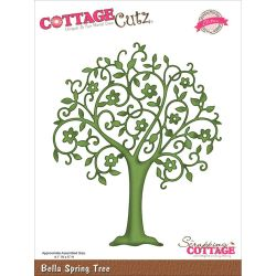 059129 CottageCutz Elites Die (Bella Spring Tree) 2995