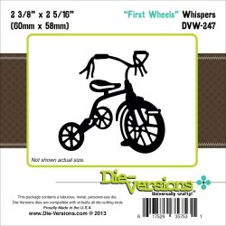 063563 Die-Versions Whispers Die (Tricycle) 1400円