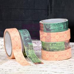 033416 [Prima] Divine Washi (55 Yards) Fabric (1 Yard) Tape 350
