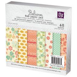 036162 [Prima] Believe Paper Pad 6インチ 48枚 550x3