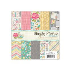 028937 [Simple Stories] Vintage Bliss Paper Pad 6インチ 24枚 650x2