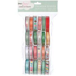 216315 [American Crafts] バリューパックプレミアムリボン 24巻 (Dear Lizzy) 1800円x2