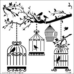 474769 Crafters Workshop テンプレート6インチ (Bird Of A Feather) 525円