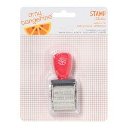 043658 [American Crafts] Amy Tangerine Yes Please ローラースタンプ 550x3