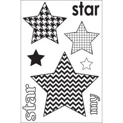 338012 [Maya Road] クリアスタンプ 2x3 (My Star Singleton) 550x3