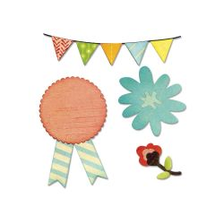 【2000円→1800円】Sizzix Thinlits Dies 8 (Sweet Day)