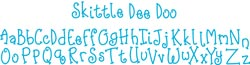【2000円→1800円】Sizzix Sizzlits Decorative Strip Die (Skittle Dee Do Alphabet)
