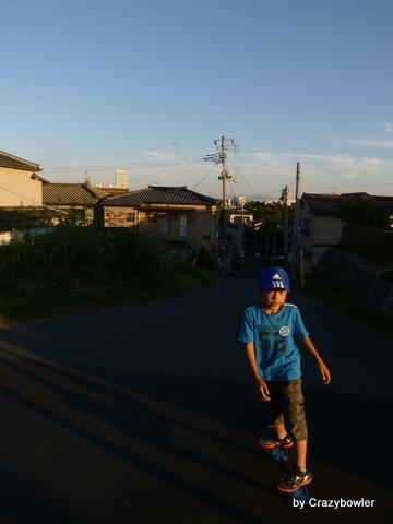日和山へ(新潟市)