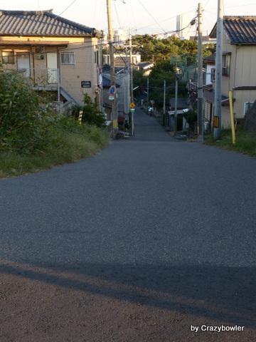 日和山と新日和山の坂(新潟市)
